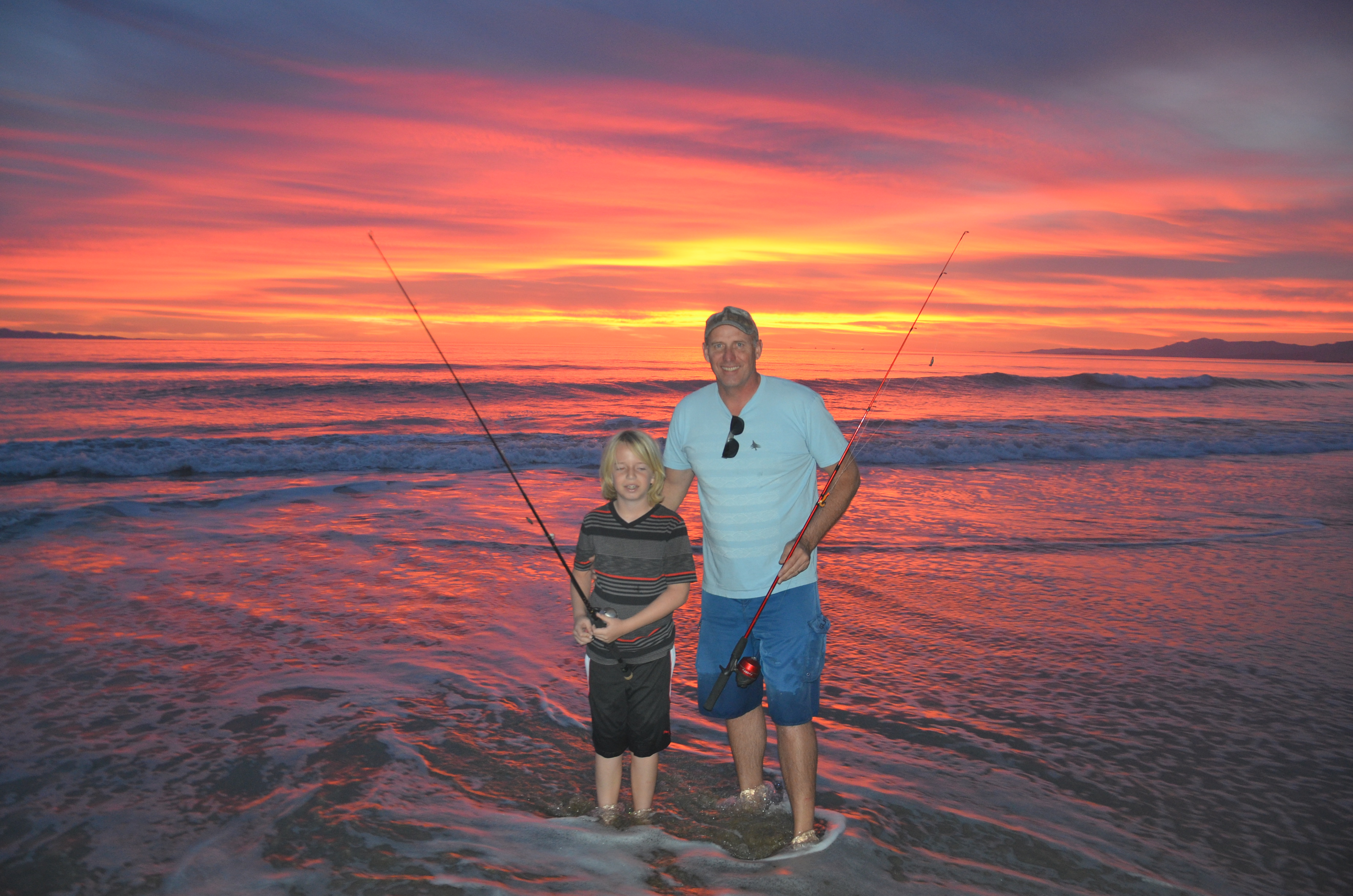 Ventura beach fishing defrost redondo rod and gun club for Ventura sport fishing