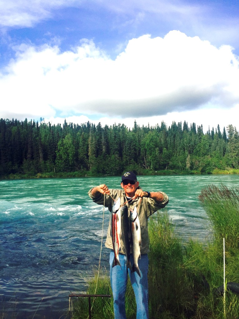 Salmon on Kenai River